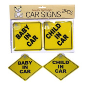 Baby in car signs