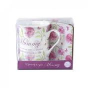 Veka Baby Products-Vintage Lane 'Mummy' China Mug & Coaster Gift Set
