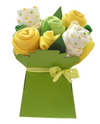 Bright Baby Muslin Square Bouquet