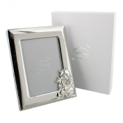 Disney Winnie The Pooh Silverplated Photo Frame 3½x5""