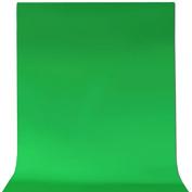 ePhotoInc 1.8m x 2.7m Cotton Chromakey Green Screen Muslin Backdrop Photo Photography Background G69