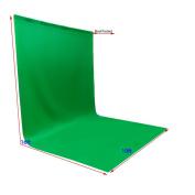 ePhotoInc Large Photo Video Photography Studio 3m x 4.9m Green Chromakey Chroma Key Muslin Backdrop Background Screen 1016G