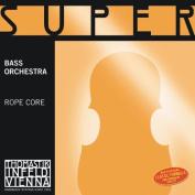 Thomastik-Infeld 2887.5 Super Flexible Double Bass Single E String, 3/4 Size, Steel Core, Chrome Wound