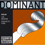 Dr Thomastik-Infeld 135 Dominant Violin Strings, Complete Set, 135, 4/4 Size, with Aluminium Wound Ball End E String