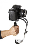 The OFFICIAL ROXANT PRO (Midnight Black Limited Edition With Low Profile Handle) video camera stabiliser is a superior handheld video dslr stabiliser with smooth pro glidecam action. This dslr rig is perfect for GoPro, Cannon, Nikon or any DSLR camera ..