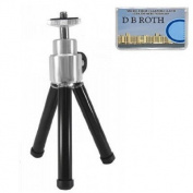 20cm Professional STEEL Table Top Tripod For The Sony Cybershot DSC-T700, DSC-T77, DSC-T70, DSC-T500, DSC-T300, DSC-T200, DSC-T2 Digital Cameras