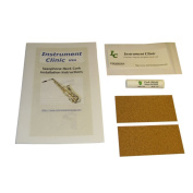 Instrument Clinic Replacement Saxophone Neck Corks, Composite Cork, 2 Pack, Cork Only