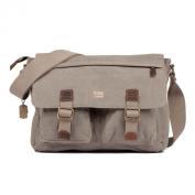 TRP0271 Troop London Heritage Small Canvas Messenger Bag