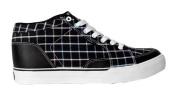 Circa Skateboard Woman Shoes Pusher Black / Black South Beach Plaid - C1rca Shoes