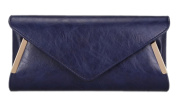 Girly HandBags Elegant Faux Leather Clutch Bag Sides Frame Party Prom Evening Ladies Bag Summer Colours
