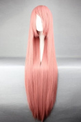 "Pink Wig - 100 cm Long - For Luka (""Vocaloid"") Cosplay"