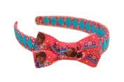 Doc McStuffins Diamond Hair band with feature bow. Hair accessories, hairbands, alice bands and head bands by www.favourstudio.com