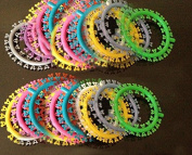 1040 PCS of Multicoloured Dental Orthodontic Ligature Cartoon Micky Type Tie