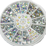 Sanwood Acrylic Nail Art Decoration Glitter Rhinestones