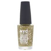 NYC Rock Muse Top Coat - Gold Maiden
