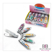"""12 x BIG STAINLESS STEEL HAND TOE NAIL CUTTER CLIPPER TRIMMER """"Paradise"""""""