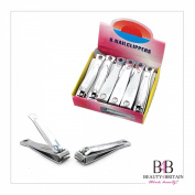 """12 x BIG STAINLESS STEEL HAND TOE NAIL CUTTER CLIPPER TRIMMER """"Arrow"""""""