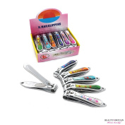 """12 x STAINLESS STEEL HAND TOE NAIL CUTTER CLIPPER TRIMMER """"Floral"""""""