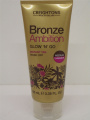 3 X BRONZE AMBITION GLOW'N'GO INSTANT TAN MEDIUM SHIMMER WASH OFF 3X100ml