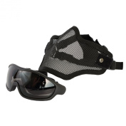 Swiss Arms Wire Mesh Mask and Goggles