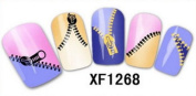 24 Legend Brand Nail Art ZIP Stickers *BUY 1 GET 1 FREE*