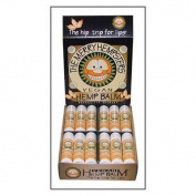 Merry Hempsters, Vegan Hemp Balm, Vanilla Lip Balm, 5ml