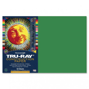 Pacon 102961 Tru-Ray Construction Paper, 34kg., 12 x 18, Holiday Green, 50 Sheets/Pack