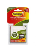 2 X Command Picture Hanging Strips Value Pack