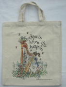 """Home is Where the Harp Is"" Tote Bag"