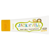 Jack N' Jill Banana Toothpaste Natural with Organic Flavouring 50g