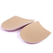Footful Gel Heel Cups Heel Support Pads Cushions for Knock Knees Correction