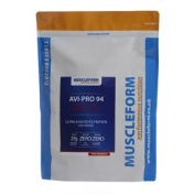 Muscleform Avi-Pro 94 Pure Whey Protein Isolate 94% 1kg Pouch - Fast Delivery - Natural