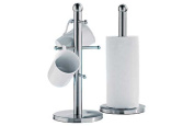 High Quality Stainless Steel Mug Tree and Kitchen Towel Holder Stand Set Y & Y