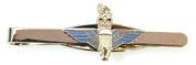 The Parachute Regiment Tie Bar / Slide / Clip (Metal / Enamel) Coloured Enamel