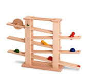 Nic - Wooden Toy 1501 - Multi Train + 6 Parts