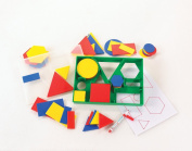 2D SHAPE ACTIVITY - CLASS / NURSERY SET - Circles, Triangles, Squares, Rectangles, Hexagons