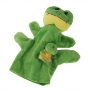 Hand Puppet Finger Puppet Toy Green Frog