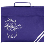 Mischief Pony Book Bag - school book bag for horse loving child