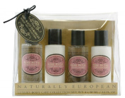 Naturally European Travel Collection, Rose Petal 50 ml - Pack of 4
