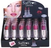 Saffron London Lipstick -Enriched With Vitamins A. C .E (Set of 6 Saffron Matte Finish Colour Lipstick
