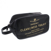 Emergency Cleanliness Toolkit Mans Toiletry Bag