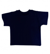 BabywearUK 3-4 YR T-SHIRT - Navy - British Made