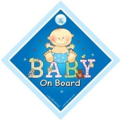 Baby On Board Sign, Blue Patch, Baby On Board Sign, Baby On Board Car Window Sign, Maternity Sign, Pregnancy Sign, Bumper Sticker Sign Style