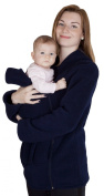 Maternity Polar warm fleece Hoodie / Pullover for two / for Baby Carriers