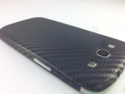 Textured Black Carbon Fibre Skin Sticker For for for for for for for for for for for Samsung Galaxy S3