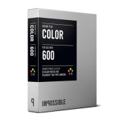 Impossible Instant Colour Film for Polaroid 600 Camera - Silver Frame Edition