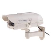 Chinatera Fake Dummy Outdoor Security Solar Power Camera CCD Camera with Flishing LED