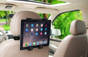 Okra 360° Degree Adjustable Rotating Headrest Car Seat Mount Holder For iPad, for for for for for for for for for for Samsung Galaxy,Motorola Xoom, And all Tablets Up To -26cm