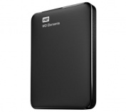 WESTERN DIGITAL WD Elements portable external hard drive - 2 TB, black + Rio 11 - Case for GPS / hard disc drive - black