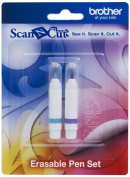 for Brother CAPEN2 Scan-N-Cut White Erasable Crayons